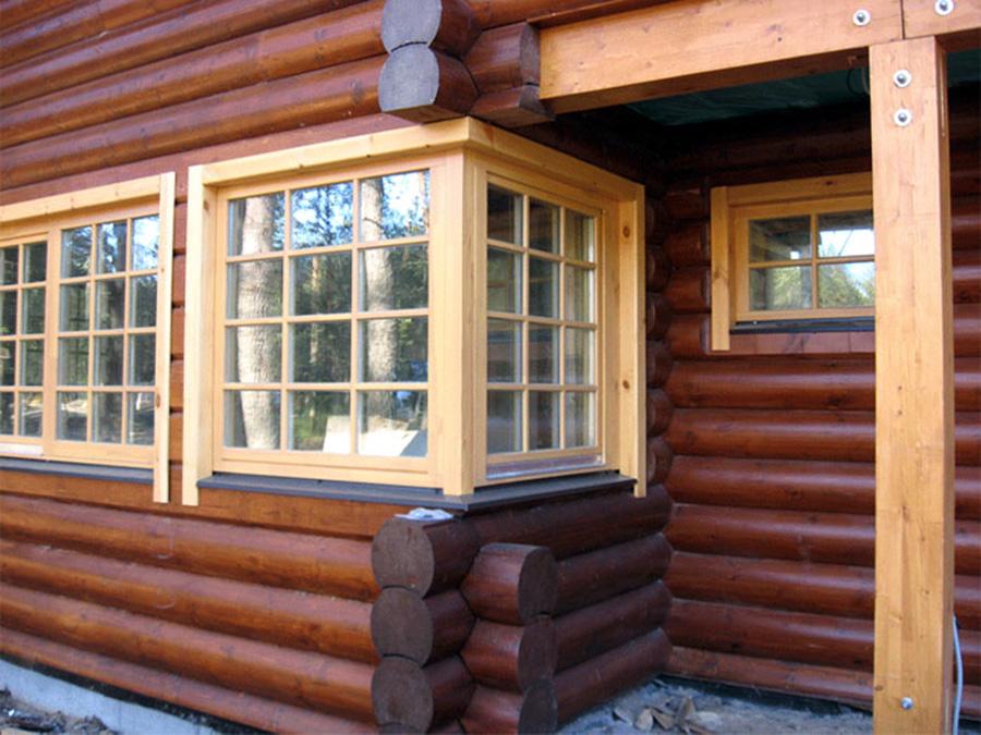 Крытый балкон в деревянном доме своими руками.